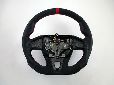 Custom Renault Megane 3 Normal RS 250 265 275 Steering Wheel Flat bottom Thick