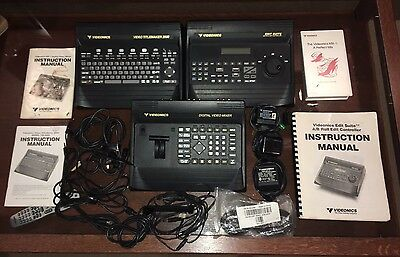 Videonics MX-1 Digital Video Mixer, Edit Suit, Titlemaker 2000 - Power Cables