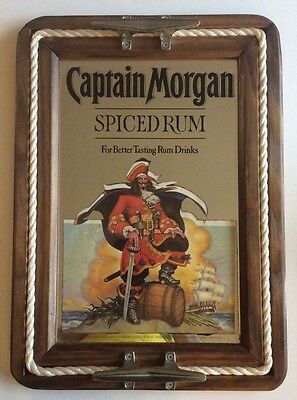 Captain Morgan Spiced Rum Bar Mirror 15.5 X 21.5