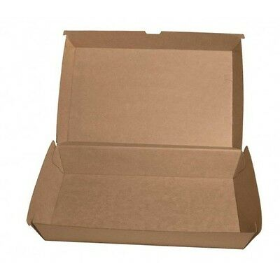 Brown Corrugated Family Pack Box (150/Carton) Beta Board Natural Look Kraft
