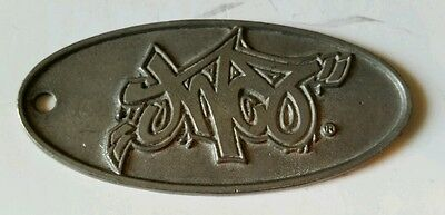 Jnco Metal Pants Clothing Tag 90's Rare Dog tag necklace