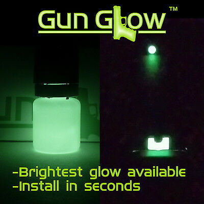 Gun sight paint-Gun Glow phosphorescent glow in the dark gun sights paint-5ml