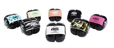 ~*~BLACK Bubs Baby Safety Earmuffs Hearing Protection Em's 4 Kids~*~0 to 18mth