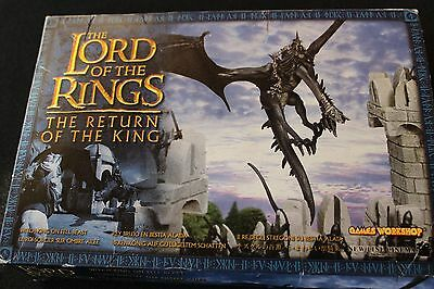 Games Workshop Lord of the Rings Ringwraith Nazgul Fell Beast Metal LOTR Boxed