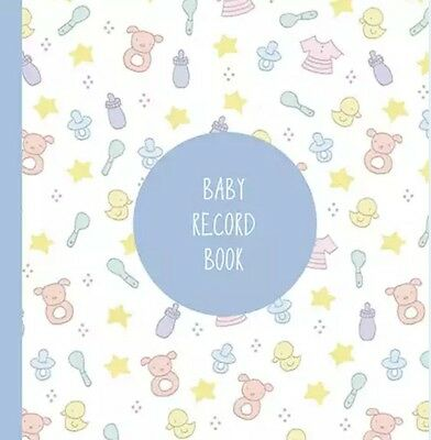 Baby Record Book:  Baby Memory & Keepsake Journal (Blue)