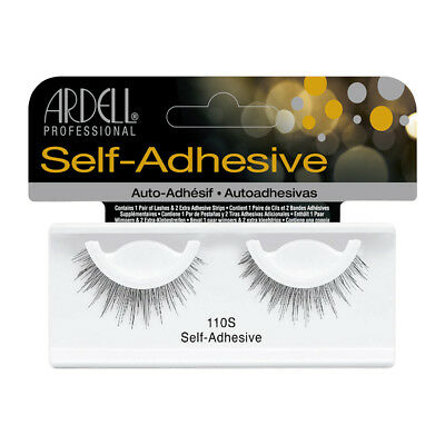 Ardell Professional Self-Adhesive Lashes: #110S, Black
