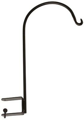 Vigoro 16 in. Decorative Galvanized Steel Heavy Duty Deck Mount Metal Hook