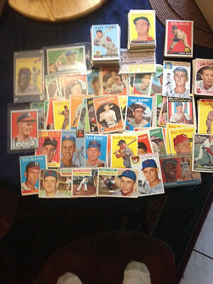 Hall of Fame Lot of Cards - Four Major Sports/Five Decades