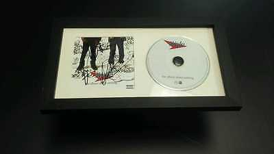 WALE Rapper The Album About Nothing SIGNED + FRAMED CD Album