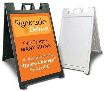 Signicade Deluxe A Frame Black Or White