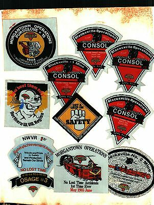 10 Different Nice Consol Coal Co. Coal Mining Sticker # 7
