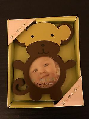 Tiny Miracles Kohl's Baby Infant Monkey Picture Frame Cute