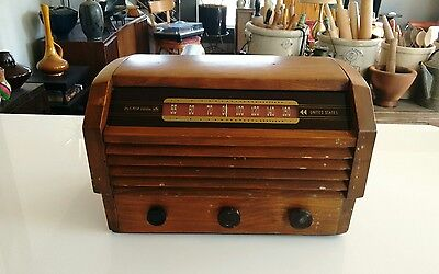 Vintage RCA Victor Tube Radio Model 56X3 For Restoration