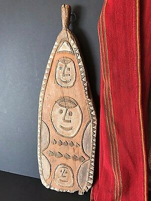 Old Papua New Guinea Gulf of Papua Gope / Spirit Board …great early piece...