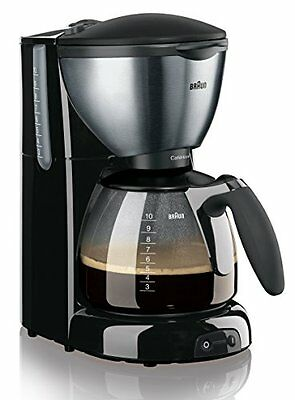 Braun KF 570/1 coffee maker - coffee makers (freestanding, Semi-auto, (F2f)