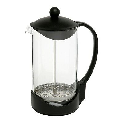 1Ltr / 8 Cup Quality Coffee Plunger Pyrex Glass