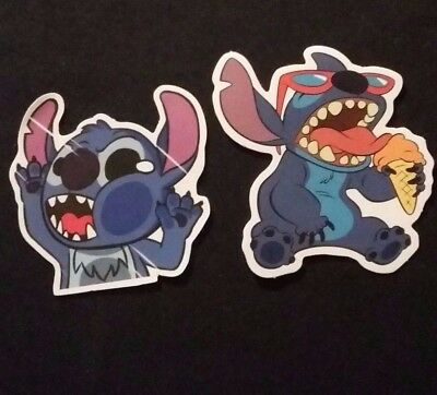 "Lilo & Stitch Movie Bumper Sticker 3"" Inch Decal 3 PACK"