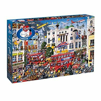 Gibsons Puzzle - I Love London (1000 pieces) (u1p)
