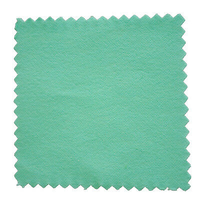 5 x Cloth Cleaning Cloth for Silver Gold A cotton polisher Green 80 * 80mm BF