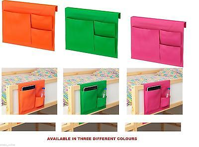 Ikea Space Saving Instant Storage Caddy Organiser Tidy bed Pockets Three colours