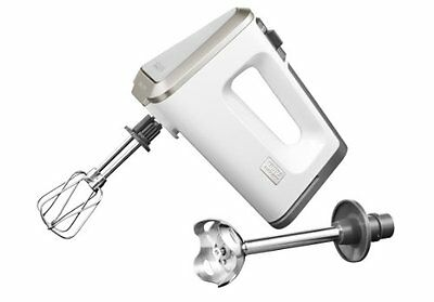 Krups GN 9031.WE 12 mixer - mixers (White, Plastic, Stainless steel) (T1e)