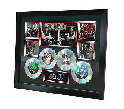 ACDC Signed photo Music Memorabilia Limited Edition of 250 & FRAMED