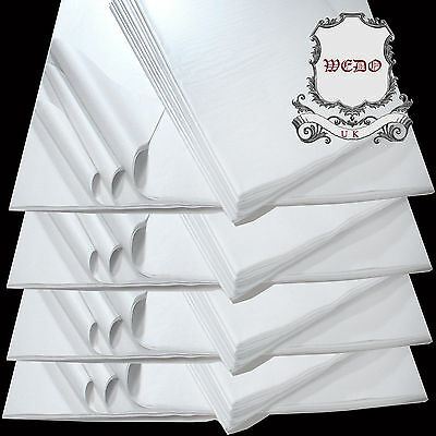 """20""""x30"""" Acid Free White Tissue Paper For Clothes Packaging Wrapping Handcraft"""
