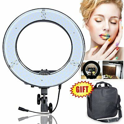 """[US] Dimmable 13.5"""" 34cm 40W LED DIVA Ring Light Lamp Beauty Makeup Photo Video"""