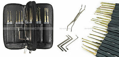 lockpicking locksmith lock pick set tools unlock door opener kit crochetage PRO