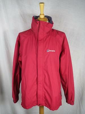 Berghaus Ladies Red Aquafoil Outdoor Hiking Jacket Size 14 - VGC