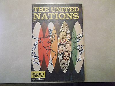 CLASSICS ILLUSTRATED SPECIAL ISSUE The UNITED NATIONS Gilberton CO Norway RARE!