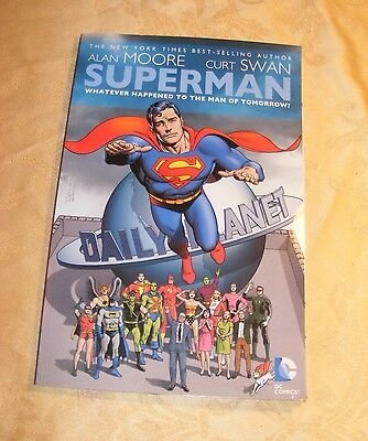 DC Superman Whatever Happened to the Man of Tomorrow HC - Alan Moore & Curt Swan