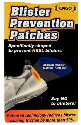 ENGO Blister Prevention Patches Heel Patches x 2 Pack NEW