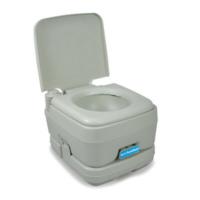 Kampa Portaflush 10 Portable Camping Toilet for Tents, Awnings & Campervans