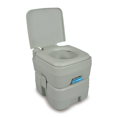 Kampa Portaflush 20 Portable Camping Toilet for Tents, Awnings & Campervans