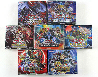 Yu-Gi-Oh! Displays Dragons of Legend 2 Duelist Pack Battle City Pack Star OVP