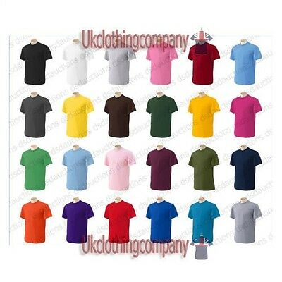 Gildan Kids Childrens Heavy Cotton Plain t-shirt - 100% Preshrunk Jersey Cotton