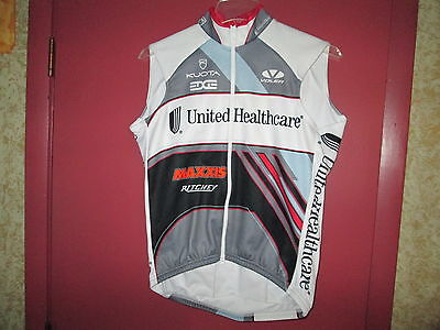 Men's United Healthcare Voler Cycling Insulated Vest Thermal UHC Medium