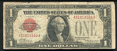 Fr. 1500 1928 $1 One Dollar Red Seal Legal Tender United States Note (A)