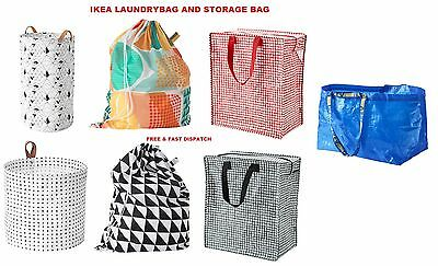 Laundry Storage Bag Shopping Bags Zipped Strong Jumbo Large Laundry Bag Ikea