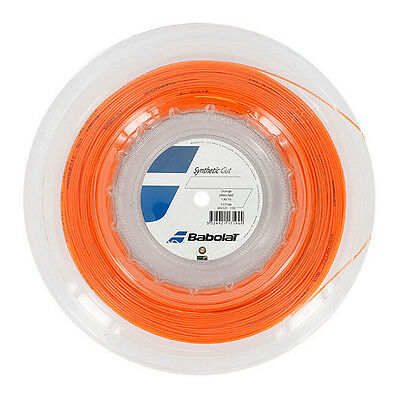 BABOLAT Synthetic Gut 200M REEL 16/1.30 - ORANGE