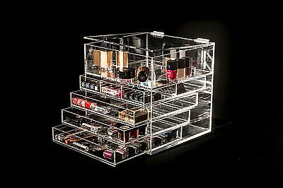 New With Fault Glamourcube Acrylic Makeup Organiser Storage  £195