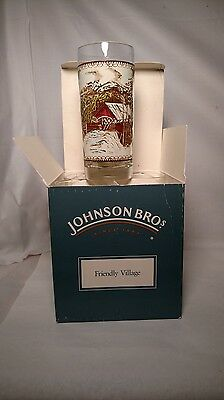 Johnson Brothers The Friendly Village - 15 Ounce Beverage Glasses