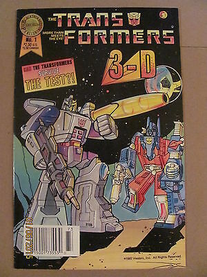 Transformers 3-D #1 Blackthorne Publishing 1987