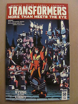 Transformers More Then Meets The Eye #50 IDW Sub Cover C Variant 9.6 Near Mint+