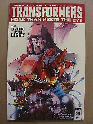 Transformers More Then Meets The Eye #50 IDW 2016 Cover A 9.6 Near Mint+