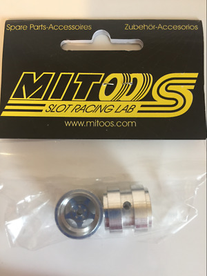 Mitoos M069 2 x R12 Alloy Rims 18 x 17.7mm Twin Rears New