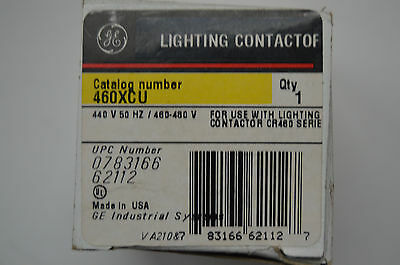 GE 460XCU Lighting Contactor, Replacement Coil 460-480V