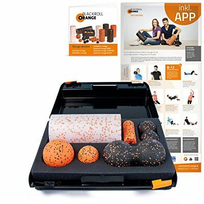 Blackroll Orange (L'originale) - Il rullo per automassaggio - SMR-Set MED (S1m)