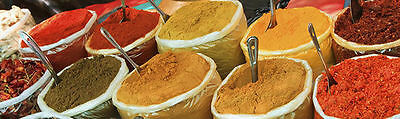 Kit of 10 Curry Spice / Spices Indian Spice Refills For Spice Tin Masala Box